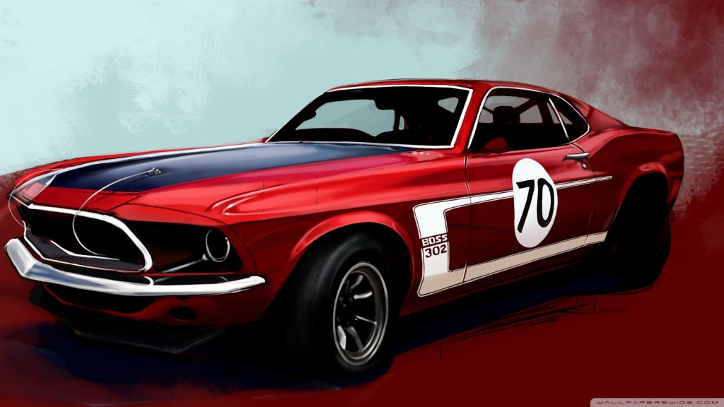 Car Wallpapers Mustang HD 1920x1080 9