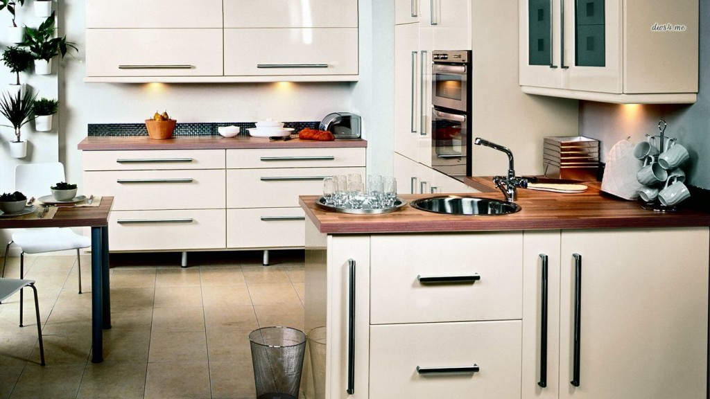 Desktop Kitchen Wallpaper HD 1366x768 1