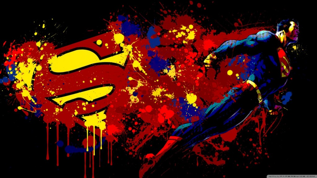 Desktop Wallpaper Superman 1366x768 HD 2