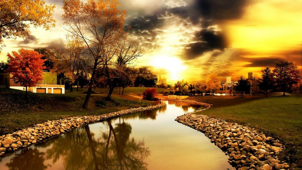 Fluss Wallpaper HD
