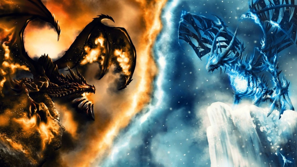 Fire Dragon Wallpaper HD 1366x768 4