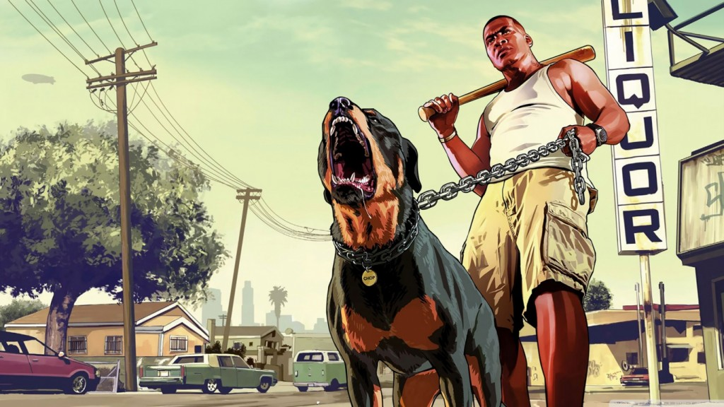 GTA 5 Wallpaper HD 1366x768 2