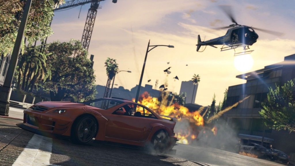GTA 5 Wallpaper HD 1366x768 4