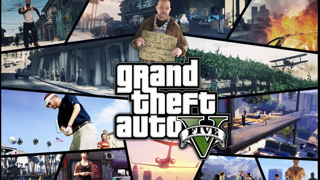 GTA 5 Wallpaper HD 1366x768 5