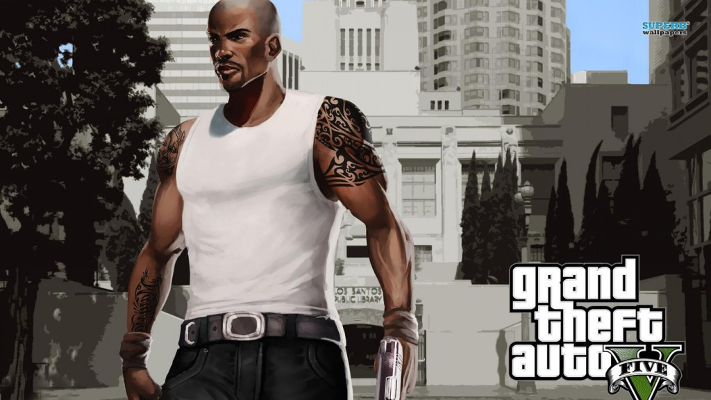 GTA 5 Wallpaper HD 1366x768 6
