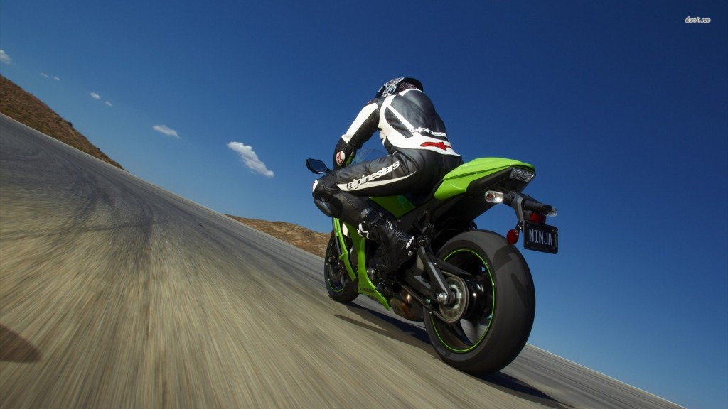Kawasaki Bike Wallpaper HD 1920x1080 3