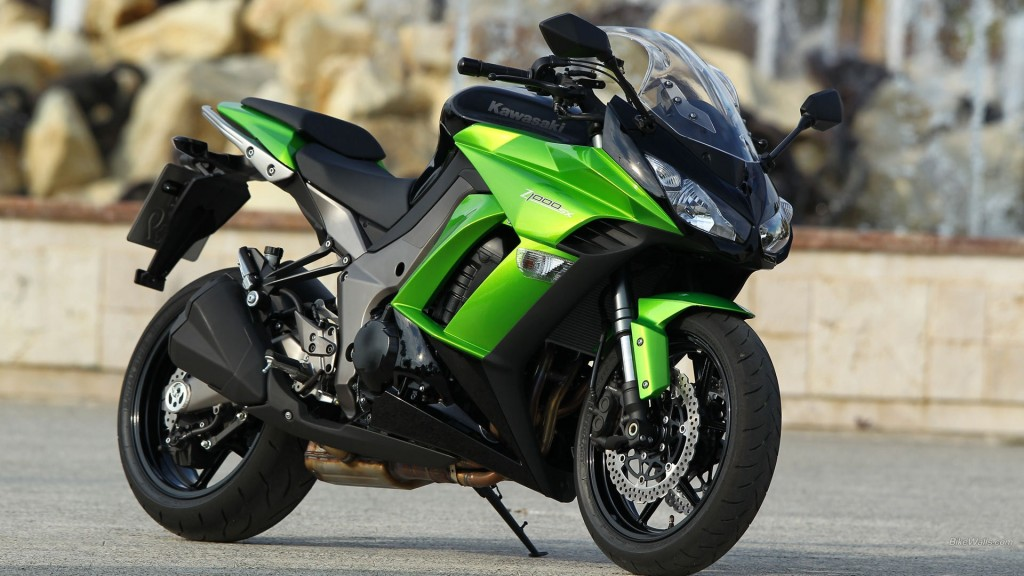 Kawasaki Bike Wallpaper HD 1920x1080 5