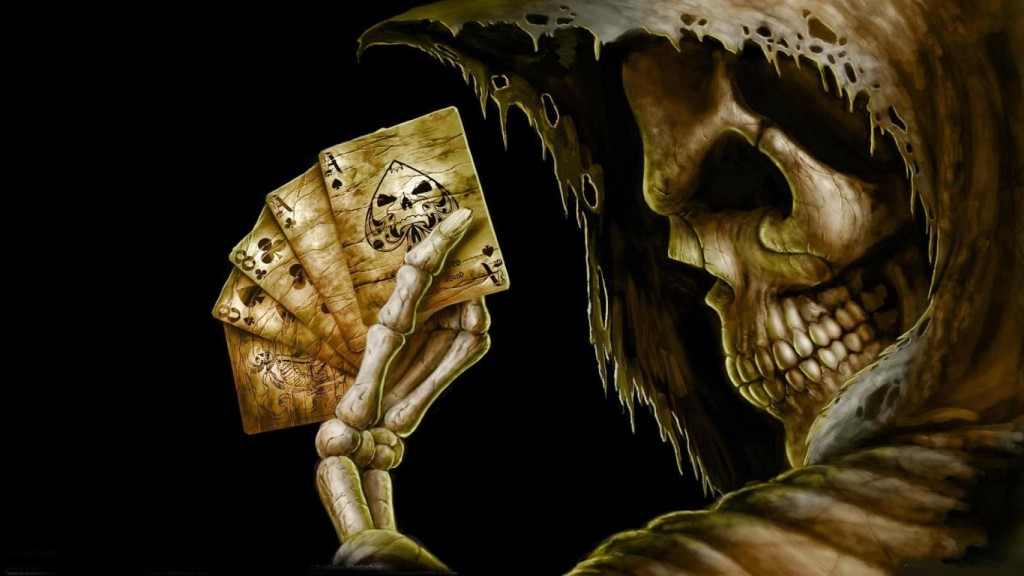 Skull Horror Wallpapers HD 1366x768 1
