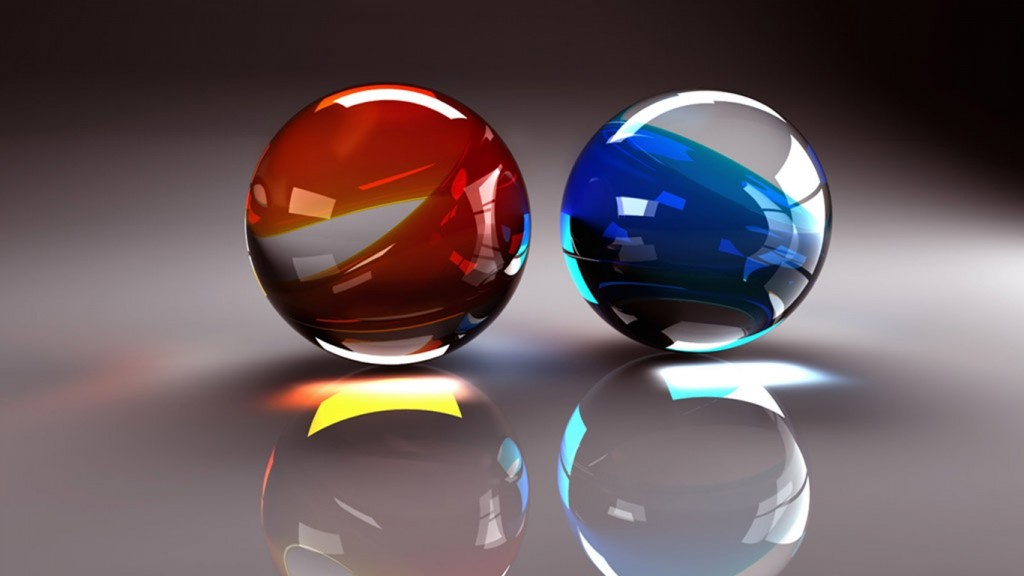 3d wallpaper glassballs392411tile
