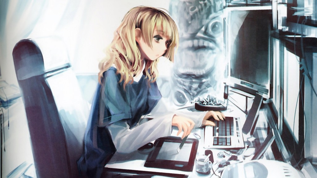 Desktop Anime Girl Wallpaper HD Anime-Girl-HD-Wallpapers