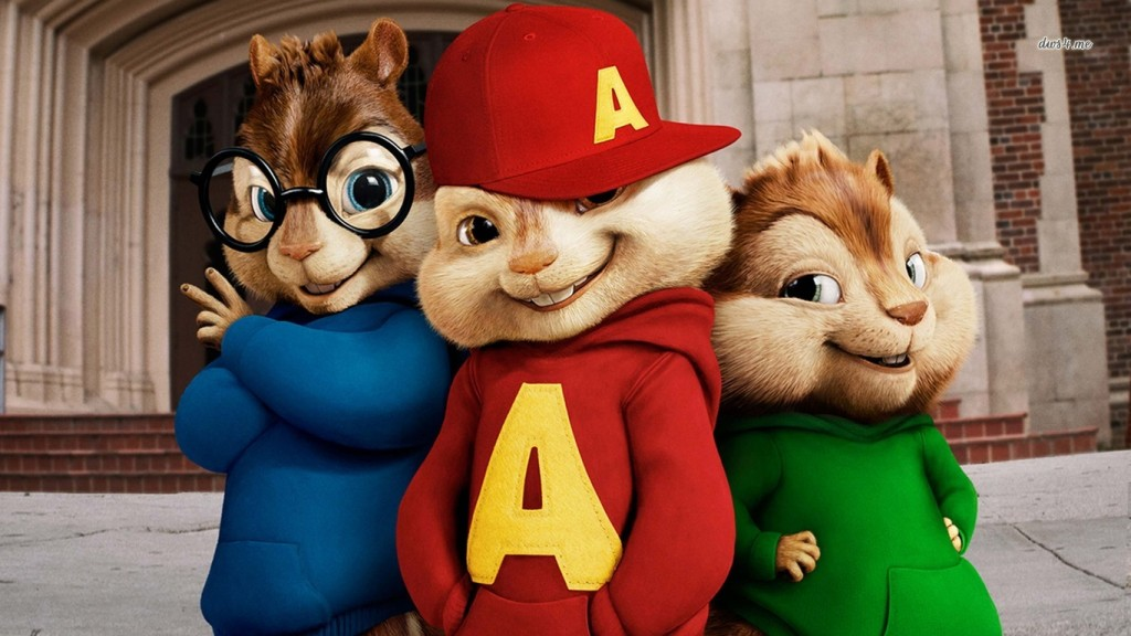 Desktop Cartoons HD Wallpapers 529-Alvin-Theodore-simon-1366x768-cartoon-wallpaper