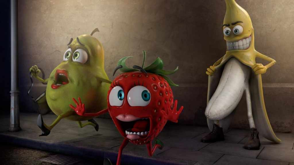Desktop Funny Wallpapers HD banana-funny-fruit-hd-wallpaper-1366x768