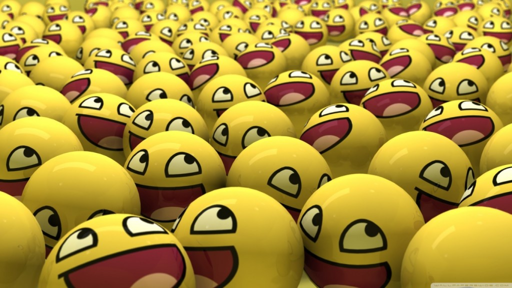 Desktop Funny Wallpapers HD funny_smileys-wallpaper-1366x768