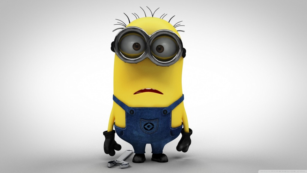 Desktop-Funny Wallpapers HD minion_2-wallpaper-1366x768