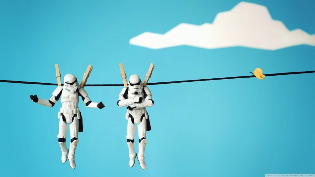 Desktop Funny Wallpapers HD stormtrooper_funny-wallpaper-1366x768