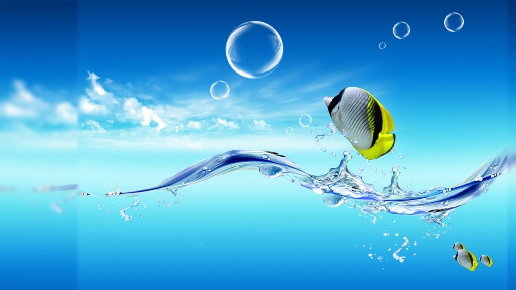 Desktop Live Wallpaper HD 1366x768 hd-live-vesi-hd-tapetti-3D-1366x768