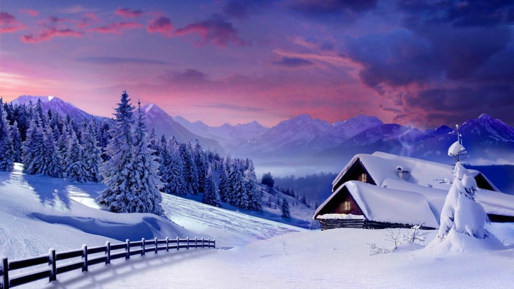 Desktop Winter Wallpaper HD musim sejuk-wallpaper-1366x768