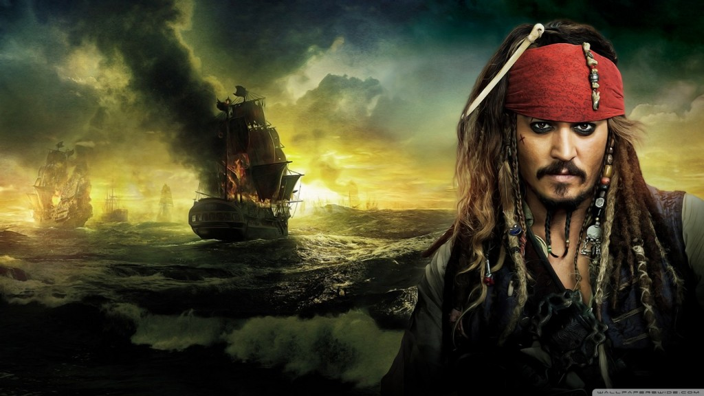 pirates of the caribbean johnny_depp_pirates_of_the_caribbean_on_stranger_tides_2011-wallpaper-1366x768