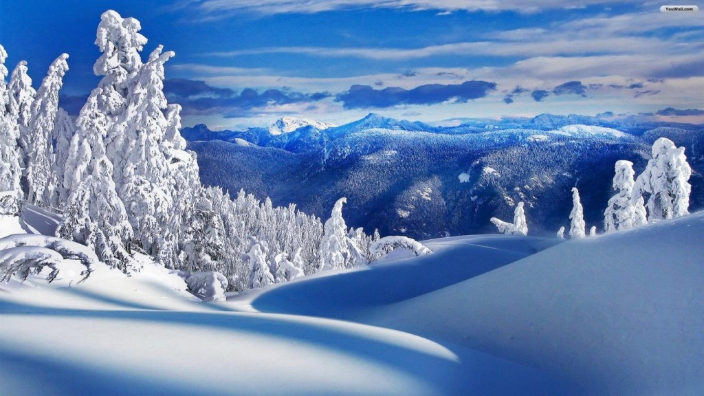 winter wallpaper winter-landscape-wallpaper-1366x768