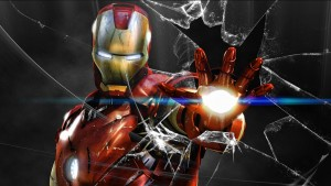 Bureau Iron Man Wallpaper HD