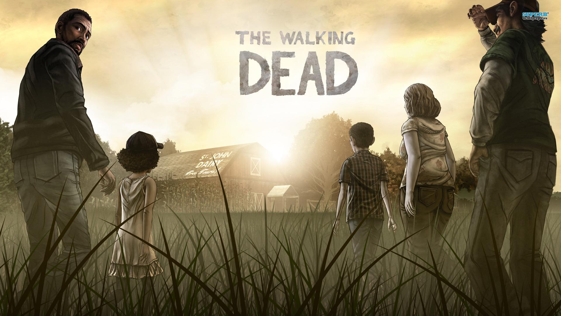 the walking dead season 5 wallpaper 1366x768