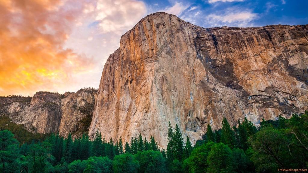 Yosemite Taustakuva HD 1920x1080 8