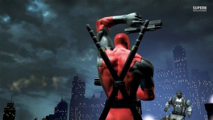 Desktop Deadpool Taustakuva HD