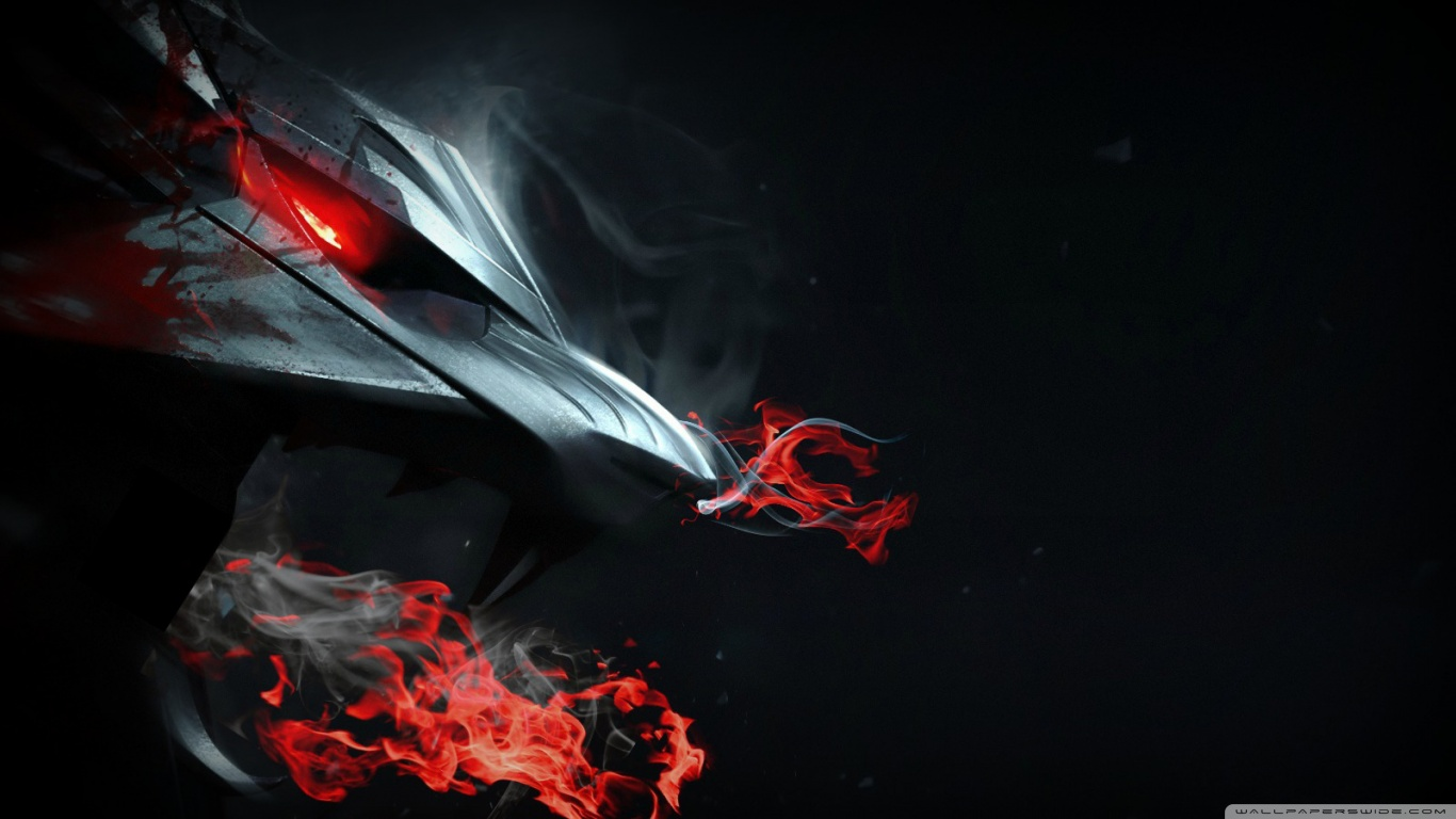 Hd black dragon wallpaper