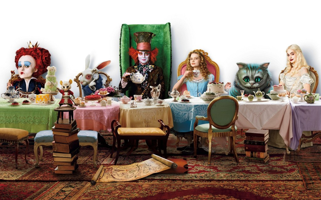 Alice in wonderland wallpaper3