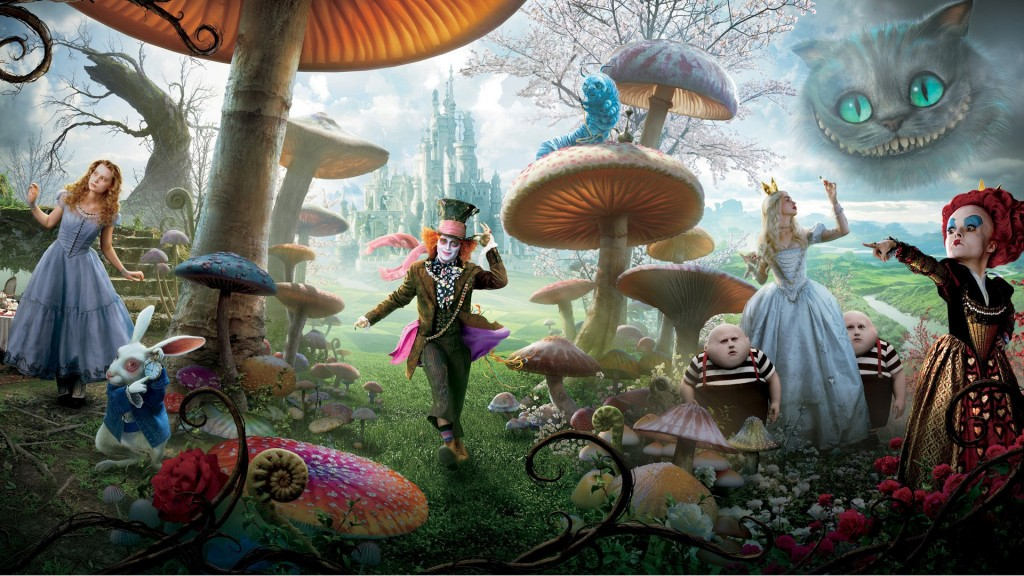 Alice in wonderland wallpaper5