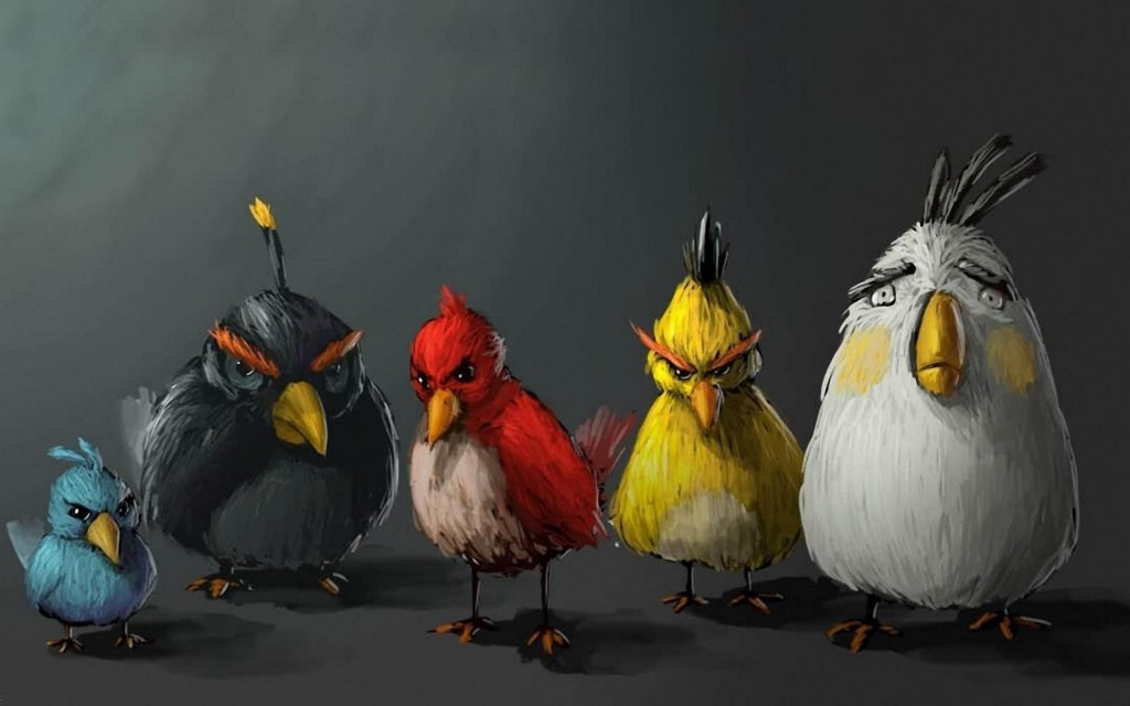 Angry birds wallpaper HD