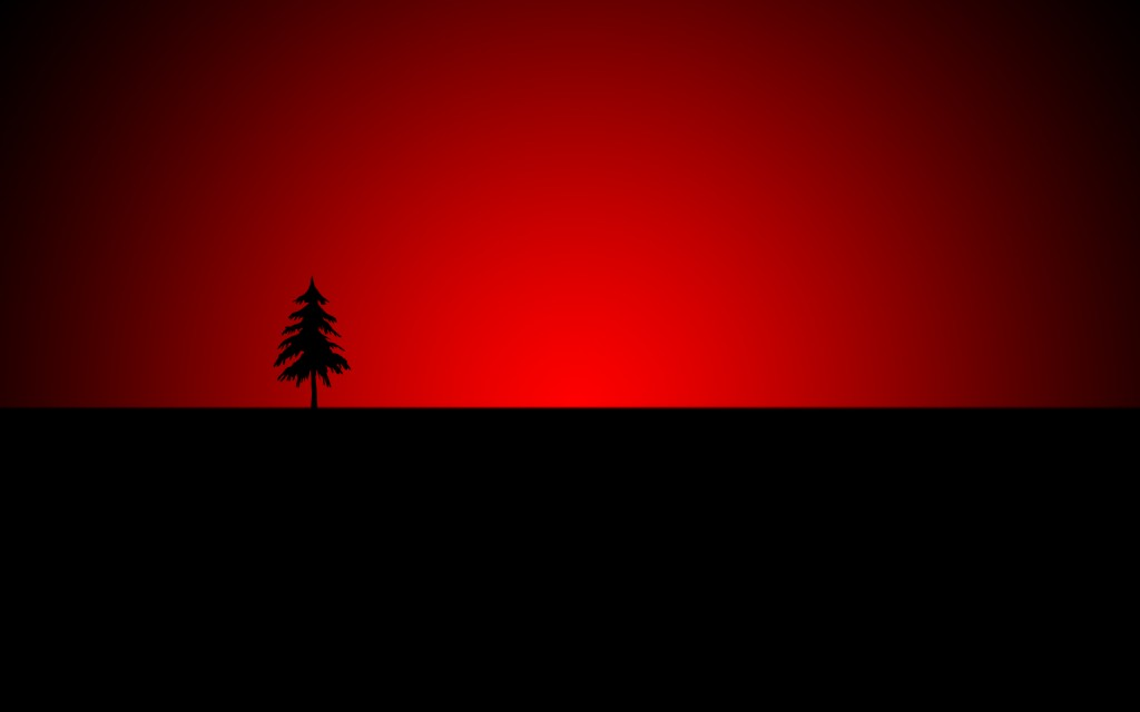 Black and red wallpaper4