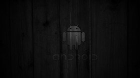 Black wallpaper android