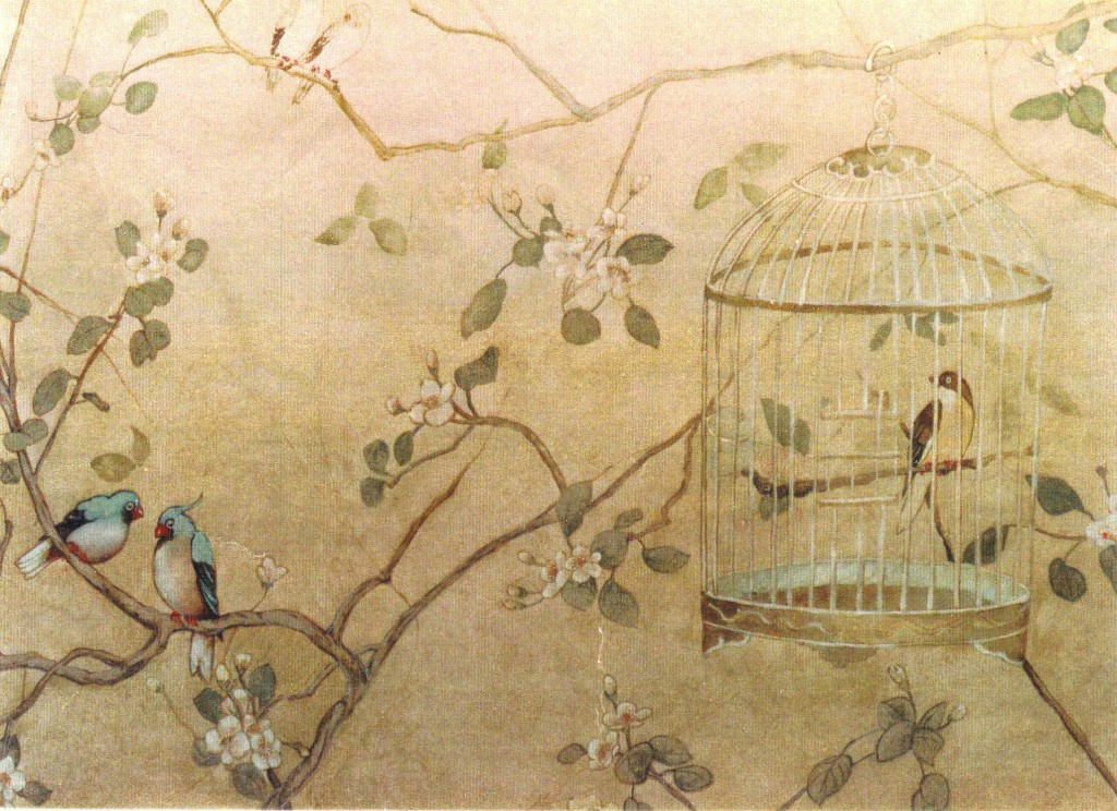 Chinoiserie wallpaper4