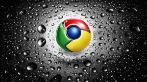 Chrome Tapete