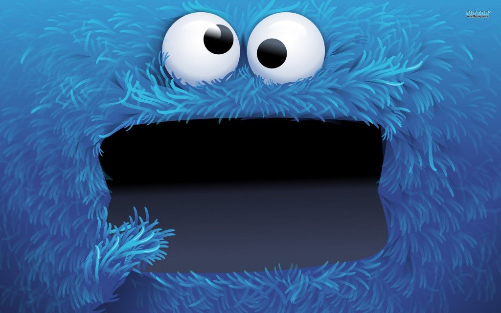 fond d'écran Cookie monster