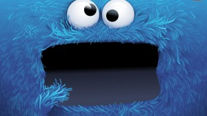Cookie Monster Tapete