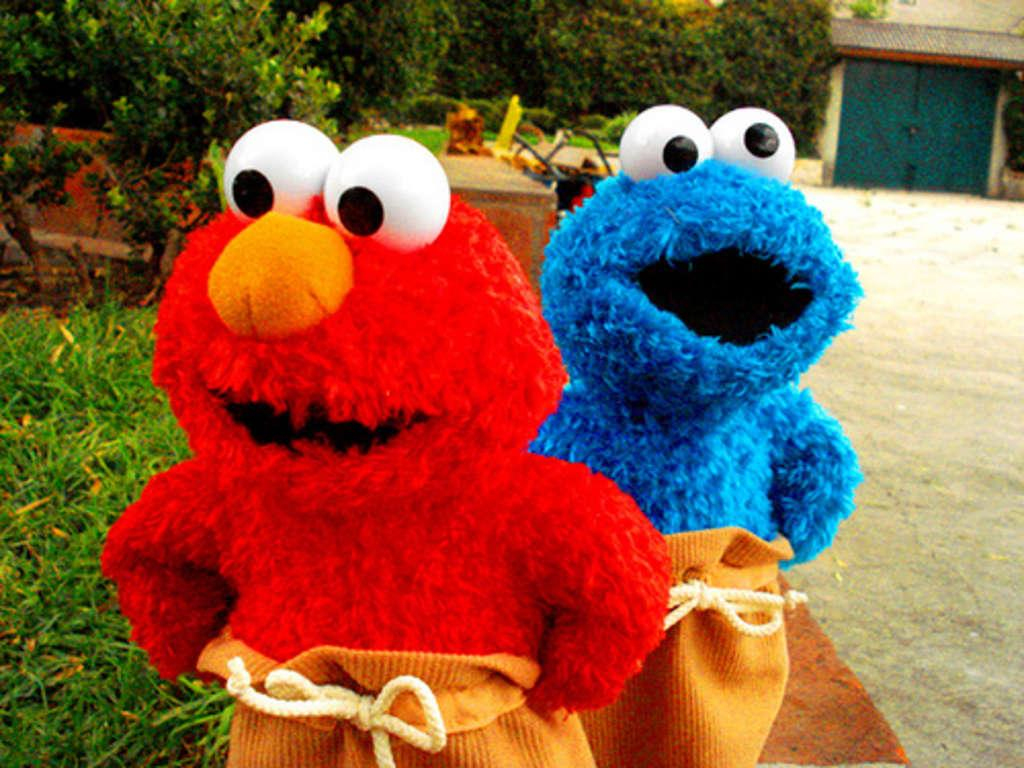 Cookie monster tapet