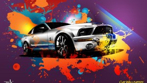 Ford Mustang tapetti HD
