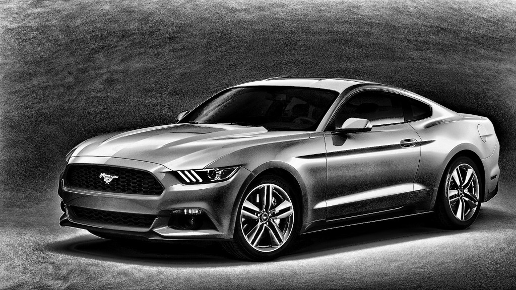 Ford Mustang tapeter HD