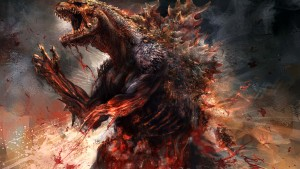 fond d'écran Godzilla