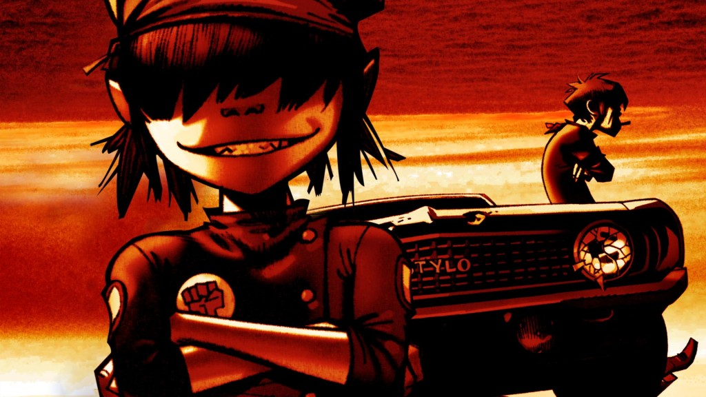 Gorillaz Wallpaper2
