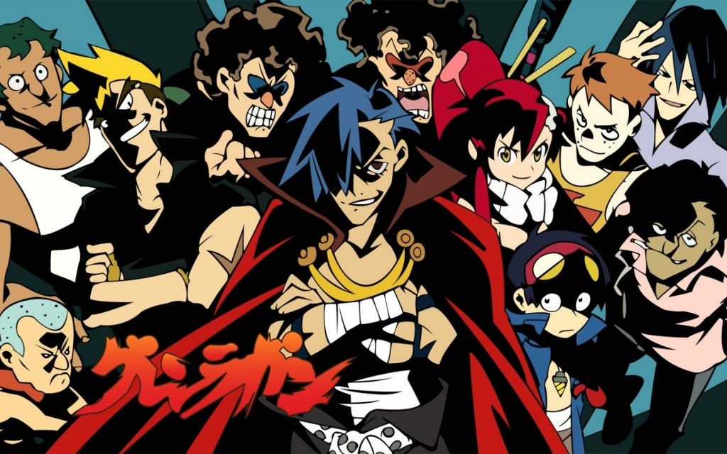 Gurren lagann wallpaper