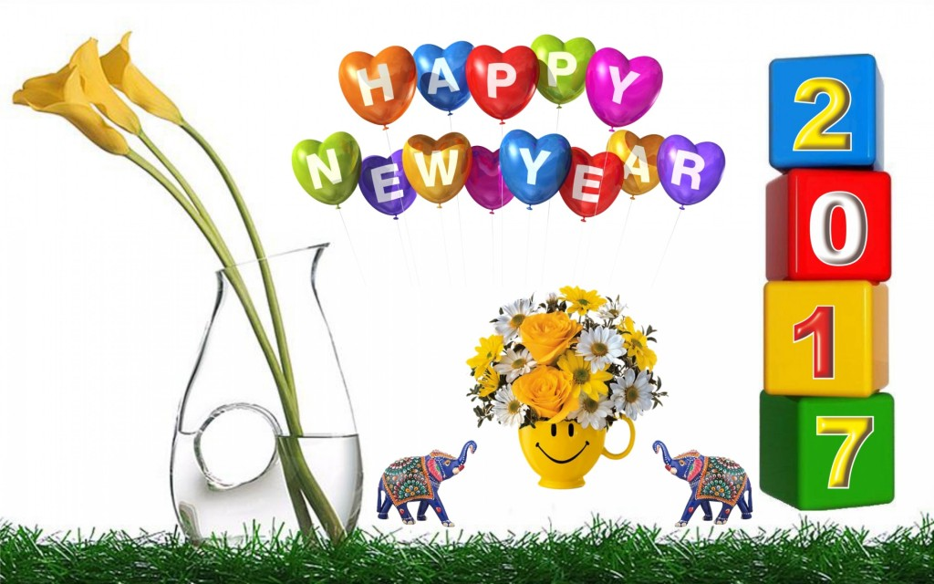 Happy new year wallpapers 2017 hd