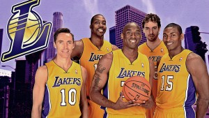 lakers tapeter