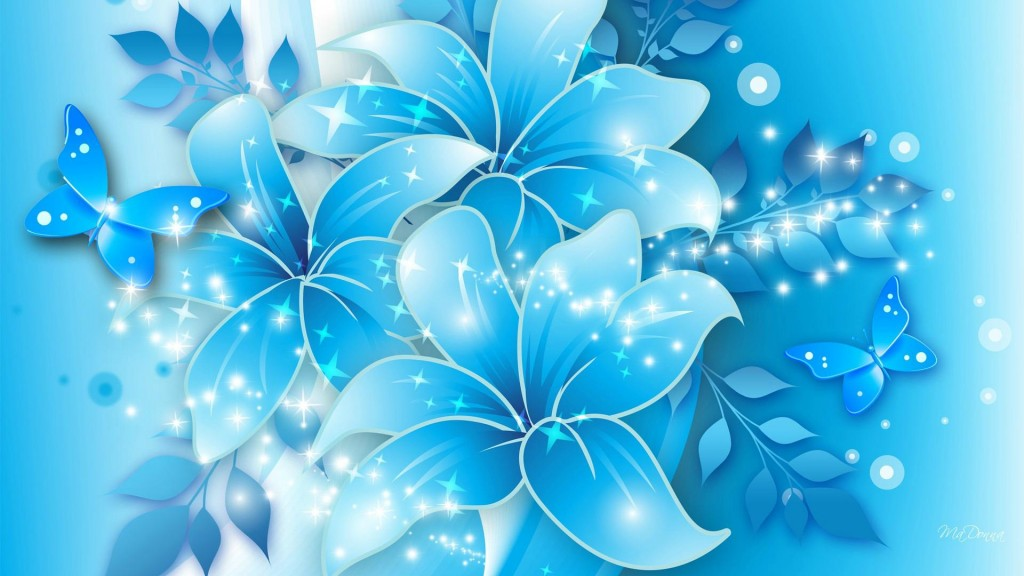 Light blue wallpaper2
