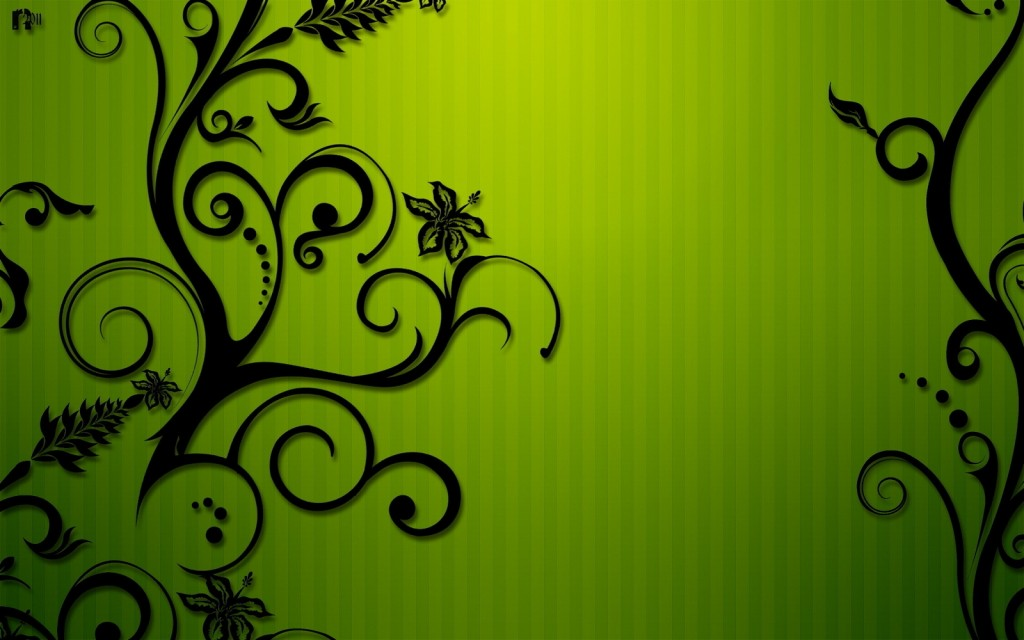 Lime green wallpaper3