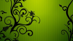 Lime green tapetti HD
