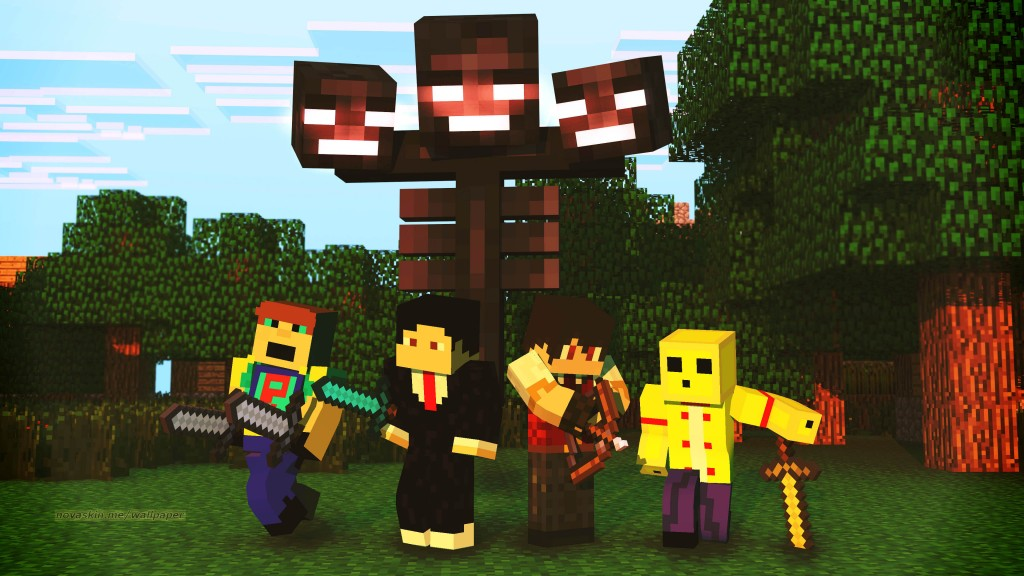 Minecraft maker5 wallpaper