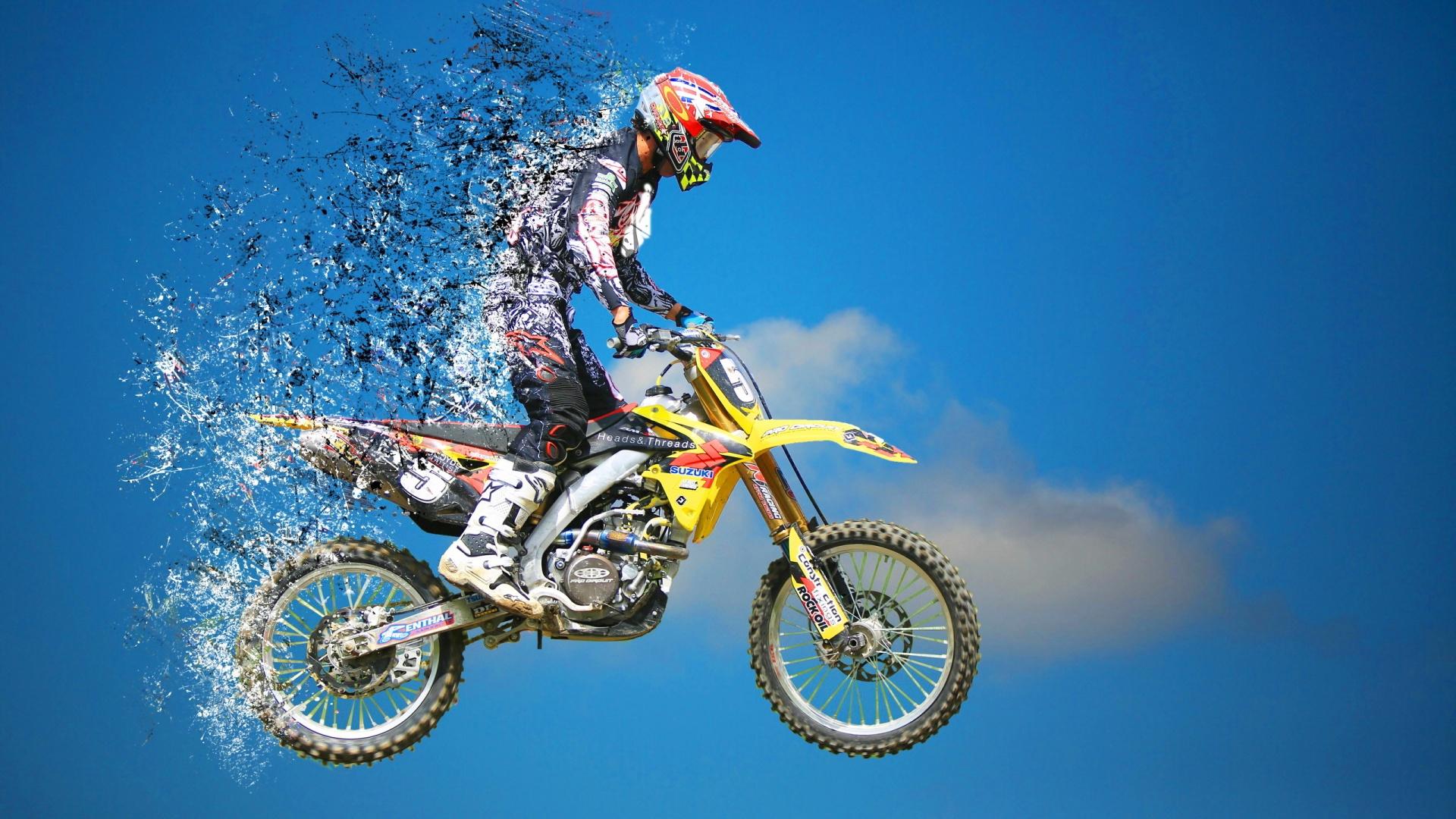 Fond D'écran De Motocross